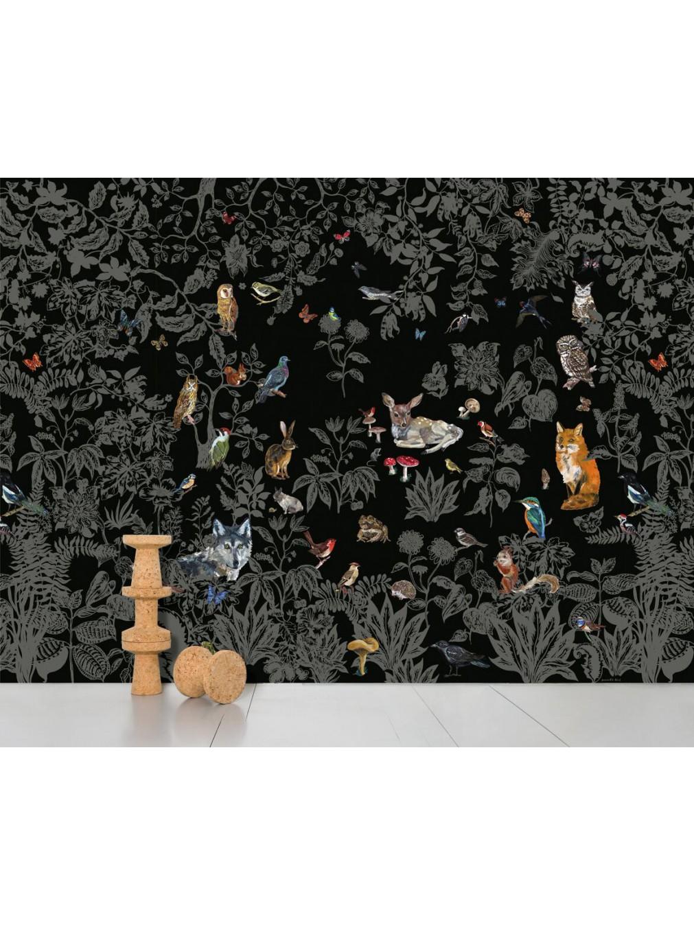 papier-peint-foret-noire1